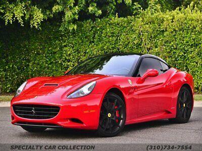 Ebay Advertisement 2010 Ferrari California 2010 Ferrari