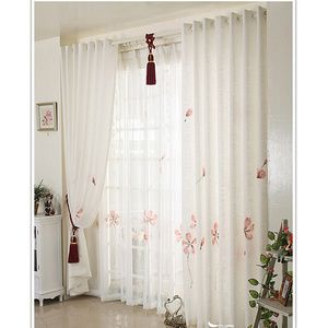 Good White Floral Country Pastoral Style Kids Curtains Online