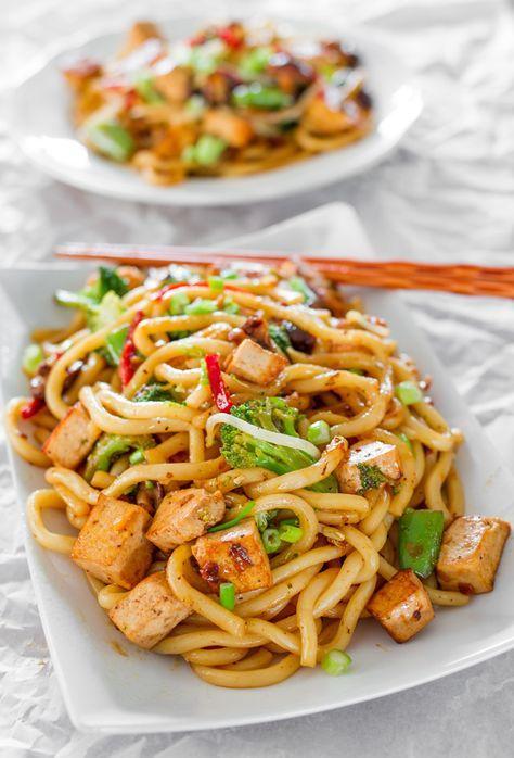 Tofu Drunken Noodles | Jo Cooks