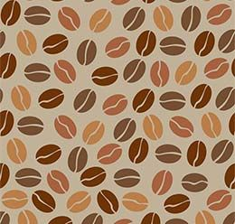 Colored Coffee Beans Seamless Vector Pattern And Images In 2020 Coffee Love Coffee Beans Pattern