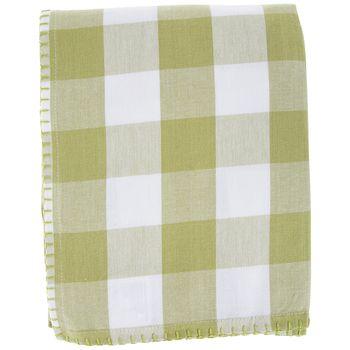 Green White Buffalo Check Tablecloth Buffalo Check Tablecloth