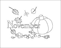 Pumpkin and leaves,#printable #November #coloring page