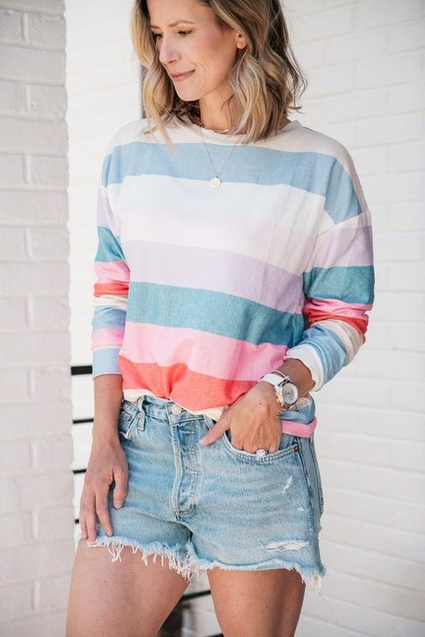 Amazon Fashion Favorite | Striped Tunic | my kind of sweet | outfit ideas | summer outfits | summer 2020 | spring style | women's fashion | outfit inspiration | casual style | casual outfits | mom style | womens style casual mom #womensfashion #style #outfits #casualoutfits #amazonfashion #momstyle #outfitideas #summerstyle #summeroutfits #outfitinspiration #momblogger #bumpfriendly #pregnancystyle