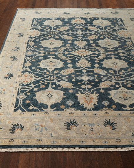 Estevan Hand Knotted Oushak Rug 10 X 14 Hand Tufted Rugs Rugs Traditional Rugs