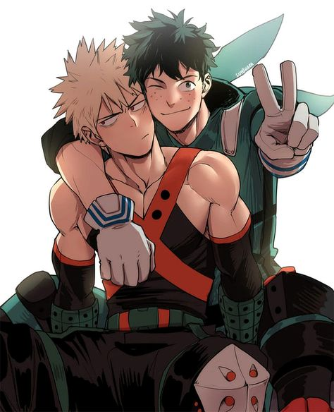 Baku Deku By Suyohara Ig Bnha Anime Hero My Hero