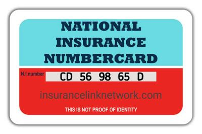 What Is National Insurance Number 2020 In 2020 National Insurance Number National Insurance Health Insurance Policies