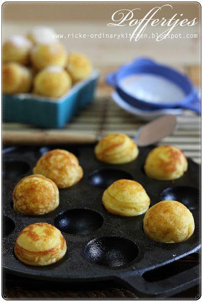 Just My Ordinary Kitchen Poffertjes Dutch Mini Pancake Puffs Kue Dadar Resep Makanan Resep Masakan