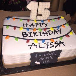 Image Result For Stranger Things Birthday Cake Stranger Things