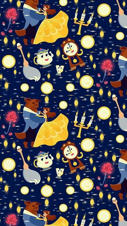Beauty And The Beast Disney Wallpaper Beast Wallpaper Cute Disney Wallpaper