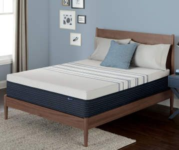 Zeopedic King 10 Gel Infused Memory Foam Mattress In A Box Big Lots Serta Memory Foam Mattress Foam Mattress Bed Gel Memory Foam Mattress