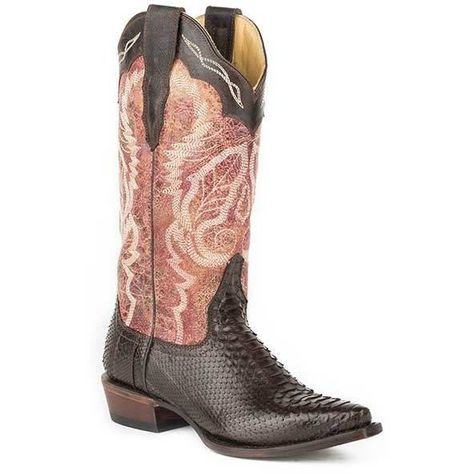 Stetson Womens America Western Boot