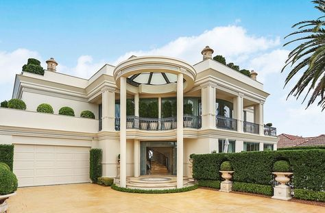 Front Exterior House Designs Exterior Luxury Homes Dream Houses Classic House Design