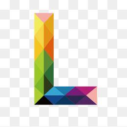 Colorful Letters L Letter L Colorful Png Transparent Clipart