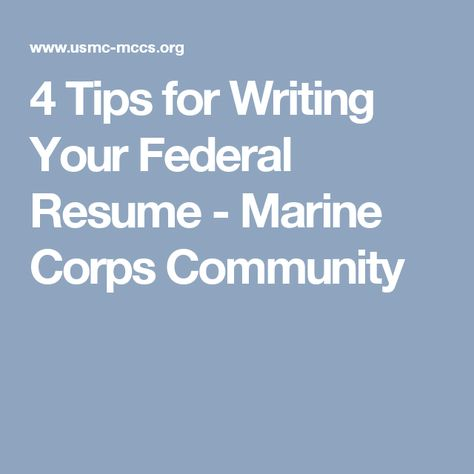 Tips for writing a successful federal resume - complete with KSAs - federal resume service