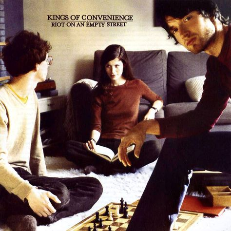 Kings of Convenience. This album is the soundtrack of my romance with my husband. Their music makes me feel all cuddly inside.