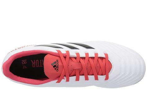 588c58dea44e adidas Predator 18.4 FG Men s Soccer Shoes White Black Real Coral ...