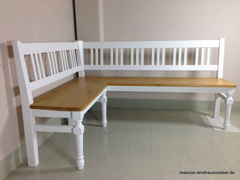 Tolle Weiße Eckbank Landhaus Roomstuff In 2019 Home Furniture