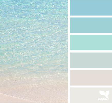 Amazing Best 25+ Beach Paint Colors Ideas On Pinterest | Ocean Color Palette,  Bathroom Paint Colours And Color Swatches