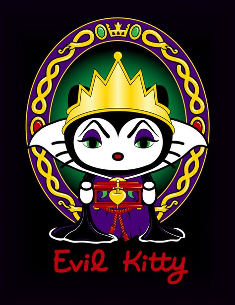 Kitty Malvada Desenhos Aleatorios Papel De Parede Celular Fofo