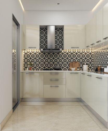 Think Beyond Kitchen Tiles Kitchen Decor False Ceiling Living