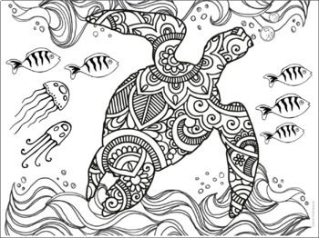Coloring Pages Animal Theme Animal Coloring Pages Coloring