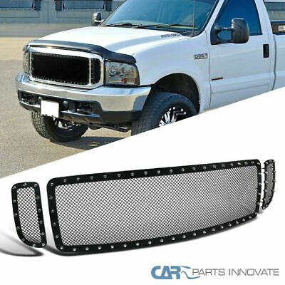 Sponsored Ebay For 99 04 F250 F350 F450 F550 Superduty 00 04 Excursion Mesh Black Grille Insert In 2020 Ford Excursion F250 Ford F250