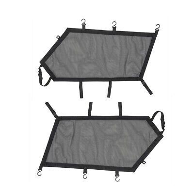 Ebay Advertisement Bid Utv Front Window Nets For Can Am Maverick X3 Max 2 Piece Set 2017 2020 In 2020 Bench Seat Covers Overhead Storage Can Am