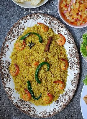 Nasi Rempah Udang Resep Masakan Makanan Resep Makanan