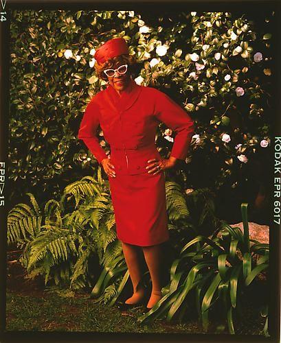 Ella Fitzgerald, Beverly Hills 1988 (printed 2010) by Annie Leibovitz