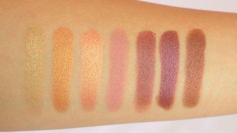 Makeup Geek Eyeshadow Swatches Review