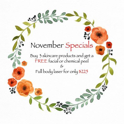 november November is here! Time to add...