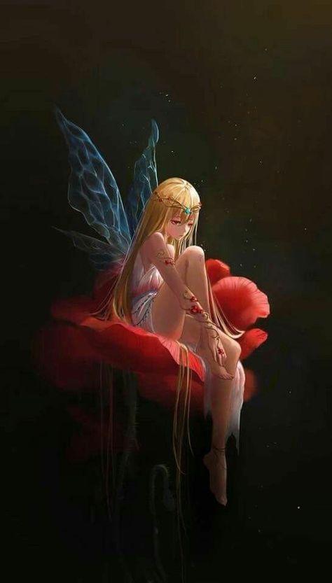 #bellsima #rosas #hada #las #deHada de las rosas. Bellísima