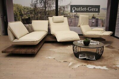 Koinor Modell Edit 2 Eckgarnitur Il C In Leder Creme Ebay In 2020 Gartenmobel Sets Sofa Turkis 2er Sofa