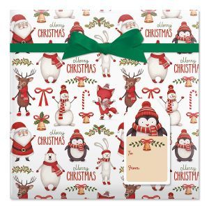 2020 Current Events For Christmas Christmas Wrapping Paper, Christmas Gift Wrap | Current Catalog in