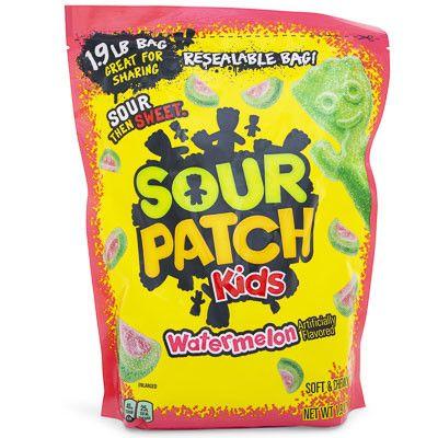 Jumbo Watermelon Sour Patch Kids 1 9lb Bag Five Below Sour Patch Kids Sour Patch Watermelon