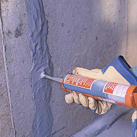 Fixing Cracks In Concrete In 2020 Fix Cracked Concrete Repair Cracked Concrete Concrete Basement Walls