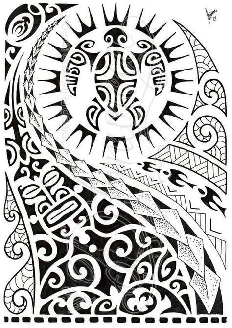 Latest Black Polynesian Half Sleeve Tattoo Design Polynesian Tattoo Designs Polynesian Tattoo Maori Tattoo
