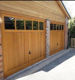 Wooden Garage Doors Prices Hormann Cedar Door Woodrite Wooden