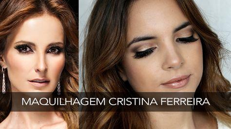 Maquilhagem Cristina Ferreira - MEU Perfume | A Maria Vaidosa