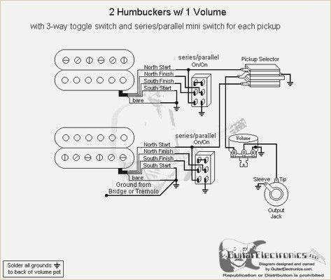 Emg Hz Pickup Wiring Diagram Toggle Switch Series Parallel Toggle