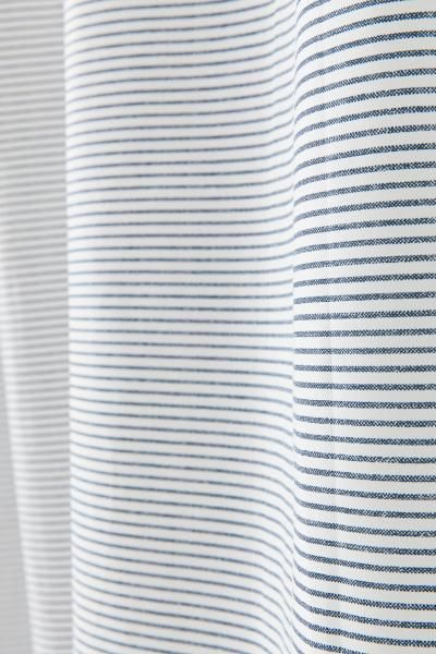 Patterned Shower Curtain Striped Shower Curtains Blue Shower