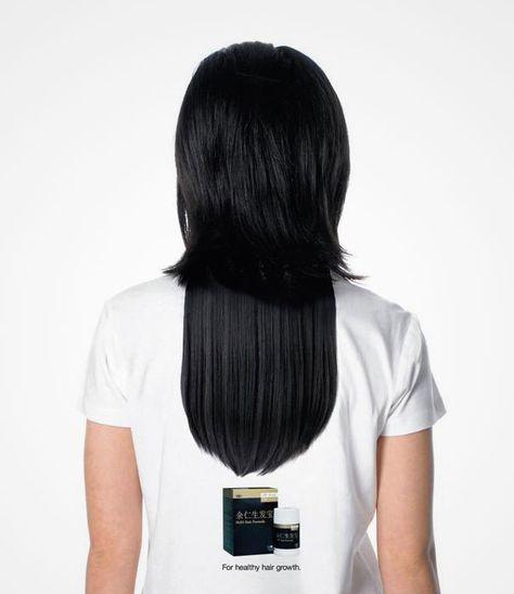 Long Hair Illusion T-Shirt, agency: DDB Singapore