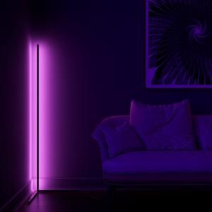 Minimal Lamp Vibrancy Minimalamp In 2020 Bright Floor Lamp Corner Lamp Corner Floor Lamp