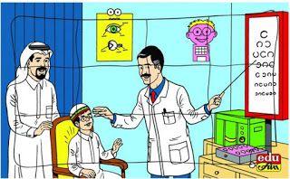 ملفات رقمية عند طبيب العيون عبارات في عيادة طبيب العيون Blog Posts Fictional Characters Cards
