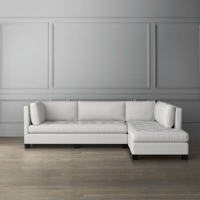 Wilshire L Shape Chaise Sectional Right Williamssonoma L Shaped Sofa Timeless Furniture Sectional