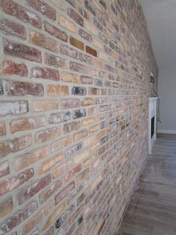 Chicago Style Brick Veneers Dolphin Mixed Color Thin Brick Veneers F Brick Veneer Brick Accent Walls Thin Brick Veneer