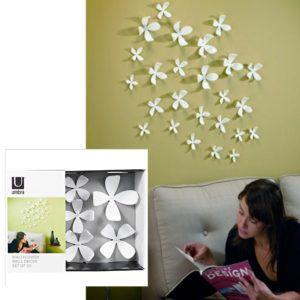 Umbra Wallflower Wall Decor Flowers