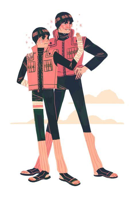"""saishoguu: """"couple of youthful ninjas """""""