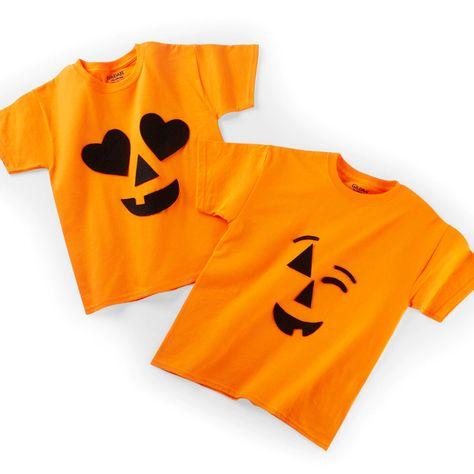 Jack-o-lantern emoji last minute costume