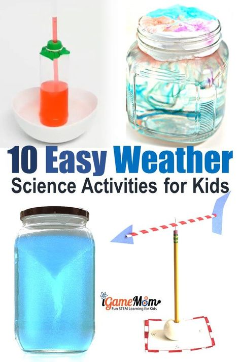 10 Hands-On Weather Science Experiments for Kids